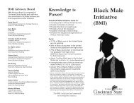 Black Male Initiative - American Association of Community Colleges