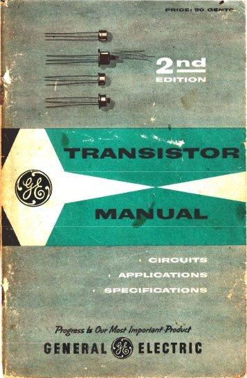 GE Transistor Manual - N4trb.com