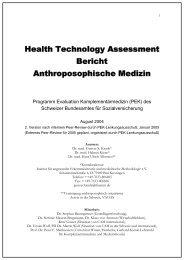 Health Technology Assessment Bericht ... - IFAEMM