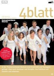 4blatt Nr. 43 - Kantonsschule Büelrain, Winterthur