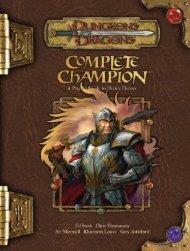 Complete Champion
