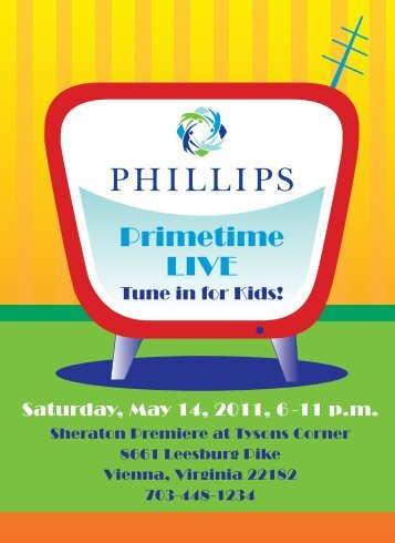 Saturday, May 14, 2011, 6 -11 p.m. - Phillips