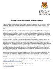 Assistant, Associate or Full Professor: Educational Technology