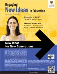 Download the Engaging New Ideas in Education poster and parking ...