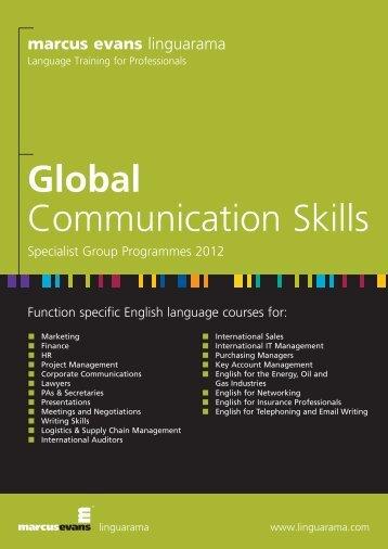 Global Communication Skills - Linguarama