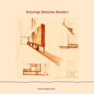 Disegni, schizzi, renders - Drawings Sketches Renders