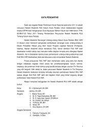 Naskah Akademis RUU Tentang Hukum Acara ... - PTA Makassar