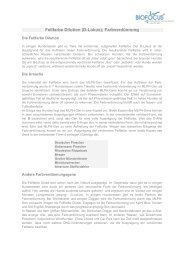 Fellfarbe Dilution (D-Lokus); Farbverdünnung - Biofocus