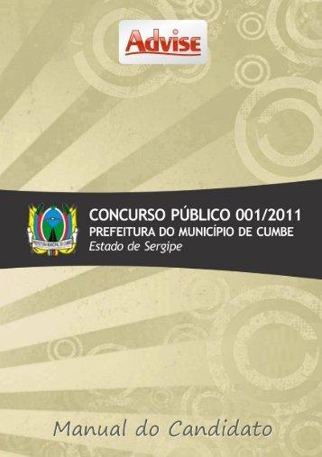 Edital - Cumbe - 2011.07.29 - Advise