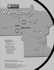 to download the Moorhead, MN catalog - Rasmussen College