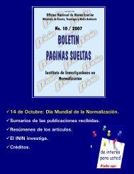 No. 10 / 2007 - Boletín Páginas Sueltas