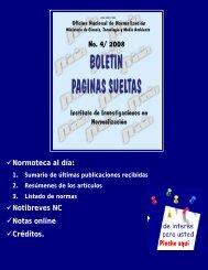 No. 4/ 2008 - Boletín Páginas Sueltas