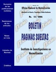 No. 12 / 2006 - Boletín Páginas Sueltas