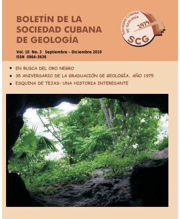 Volumen 10 No.3 año 2010 - Red Cubana de la Ciencia