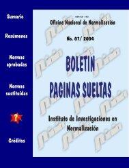 7 - Boletín Páginas Sueltas