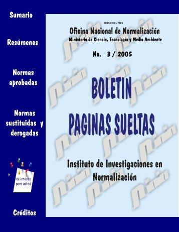 0 - Boletín Páginas Sueltas