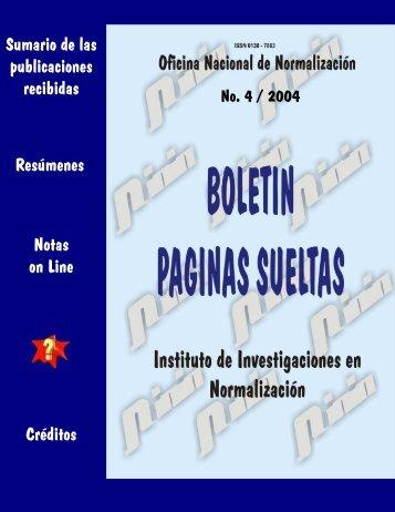 4 - Boletín Páginas Sueltas
