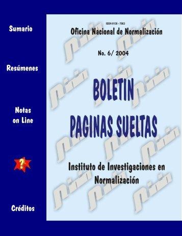 6 - Boletín Páginas Sueltas