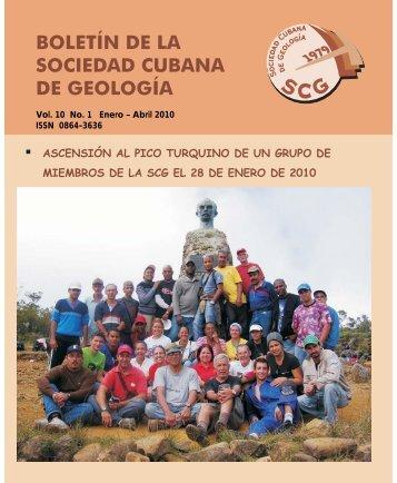 Volumen 10 No.1 año 2010 - Red Cubana de la Ciencia
