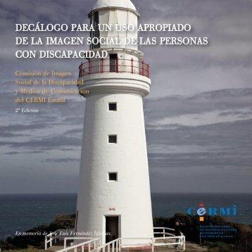 Decálogo para uso apropiado imagen social personas discapacidad