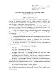 2007-01-24 Valdybos darbo reglamentas - Telsiuvvg