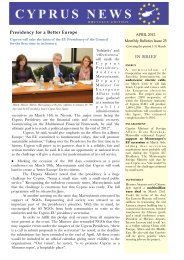 IN BRIEF Presidency for a Better Europe - Ministry of Foreign Affairs
