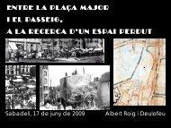 La vida eremítica en els cims de Montserrat - Sabadell