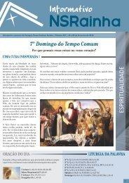 Informativo 557.pdf - PARóQUIA NOSSA SENHORA RAINHA