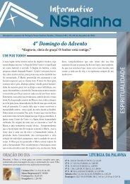 Informativo 548.pdf - PARóQUIA NOSSA SENHORA RAINHA