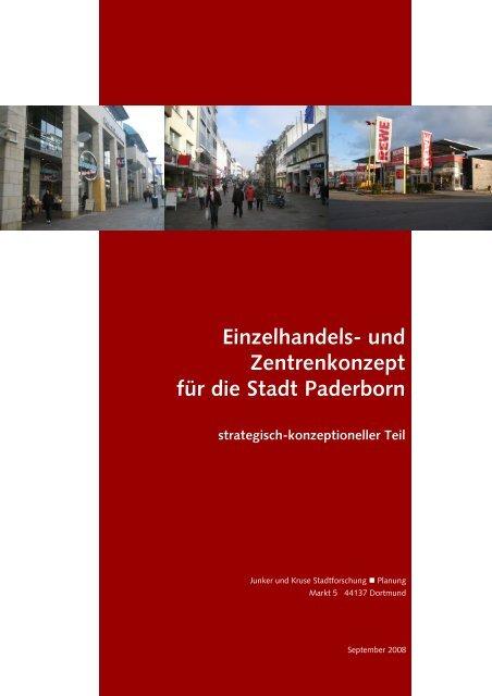 Einzelhandels- und Zentrenkonzept für die Stadt Paderborn