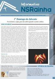 Informativo 545.pdf - PARóQUIA NOSSA SENHORA RAINHA