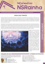 Informativo 598_site.pdf - PARóQUIA NOSSA SENHORA RAINHA