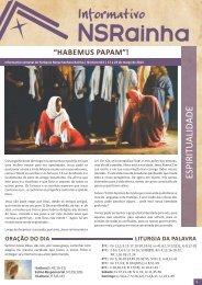 Informativo 613.pdf - PARóQUIA NOSSA SENHORA RAINHA