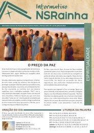 Informativo Semanal 629.pdf - PARóQUIA NOSSA SENHORA ...