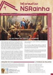 Informativo Semanal 622.pdf - PARóQUIA NOSSA SENHORA ...