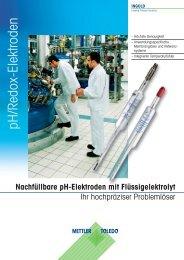 Zuverlässige pH-Elektroden - Mettler-Toledo