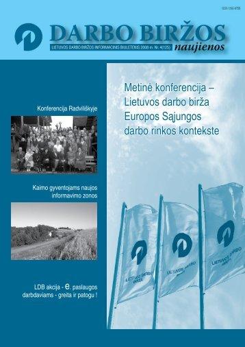 DBN 2008 04.pdf - Lietuvos darbo birža