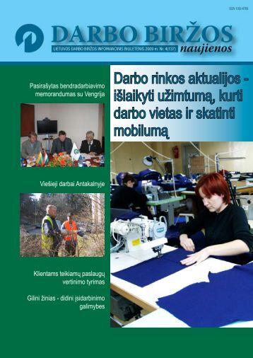 DBN 2009 04.pdf - Lietuvos darbo birža