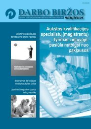 DBN 2008 08.pdf - Lietuvos darbo birža