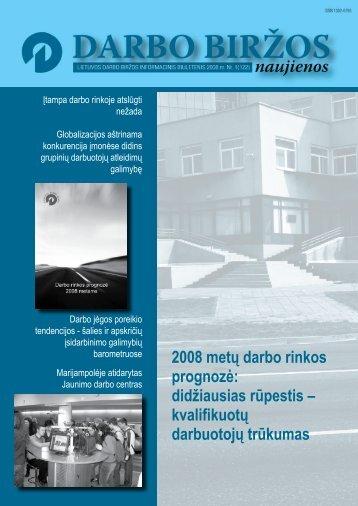 DBN 2008 01.pdf - Lietuvos darbo birža