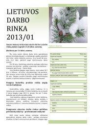 LIETUVOS DARBO RINKA 2013-01a.pdf - Lietuvos darbo birža