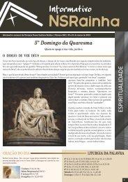 Informativo Semanal _ 562.pdf - PARóQUIA NOSSA SENHORA ...