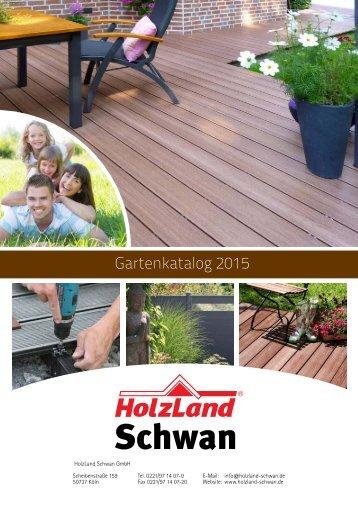 HolzLand Schwan Gartenkatalog 2015