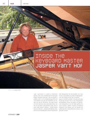 Download Interview Keyboard 1.2009 - Jasper van't Hof