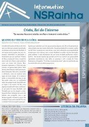 Informativo 544.pdf - PARóQUIA NOSSA SENHORA RAINHA