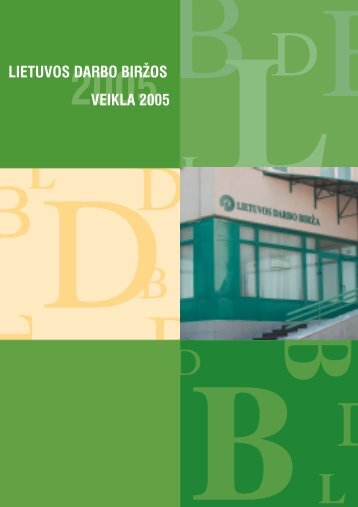 darbo rinkos tendencijos - Lietuvos darbo birža