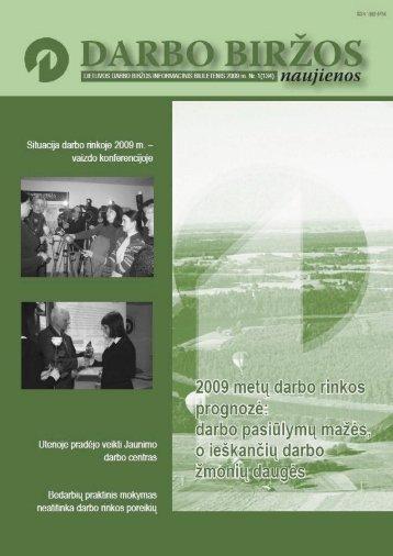 DBN 2009 01.pdf - Lietuvos darbo birža