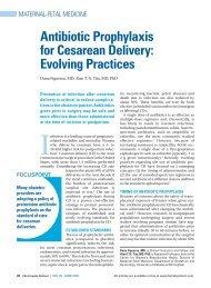 Antibiotic Prophylaxis for Cesarean Delivery: Evolving Practices