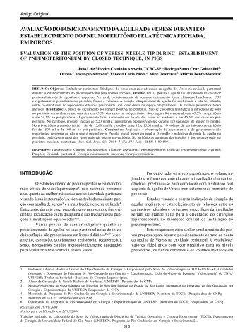 Joao Luiz Moreira C Azevedo - Cirurgiaonline.med.br