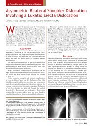 Asymmetric Bilateral Shoulder Dislocation Involving a Luxatio Erecta ...
